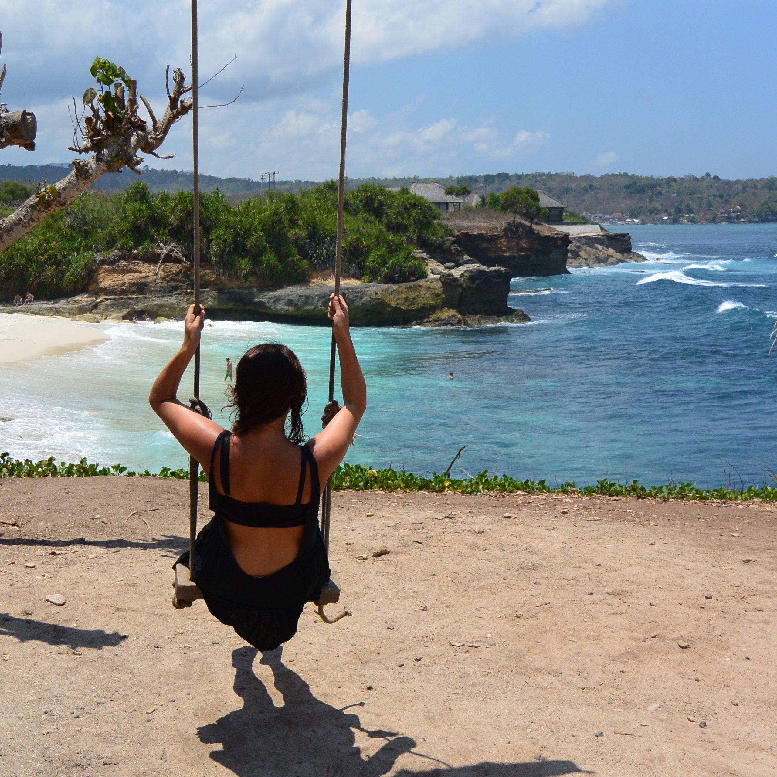 Mengunjungi Pantai Impian di Nusa Lembongan, Dream Beach