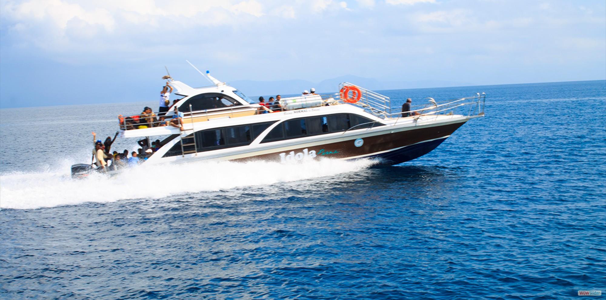 Keberangkatan ke Nusa Penida Dengan Fast Boat